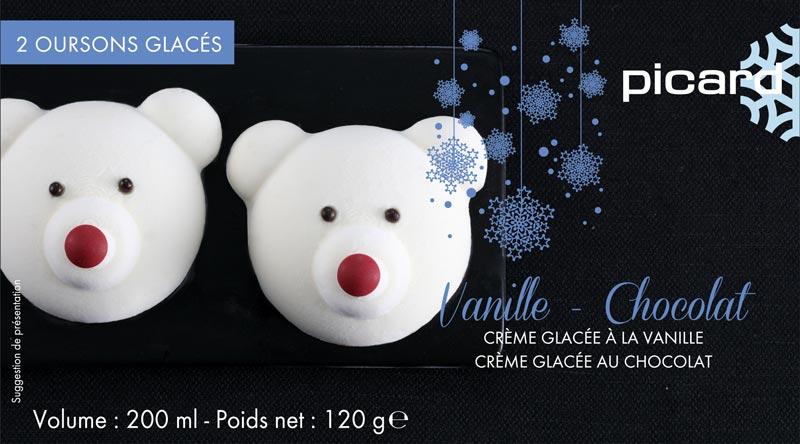 Picard「白くまのアイス(チョコレートとバニラ)」