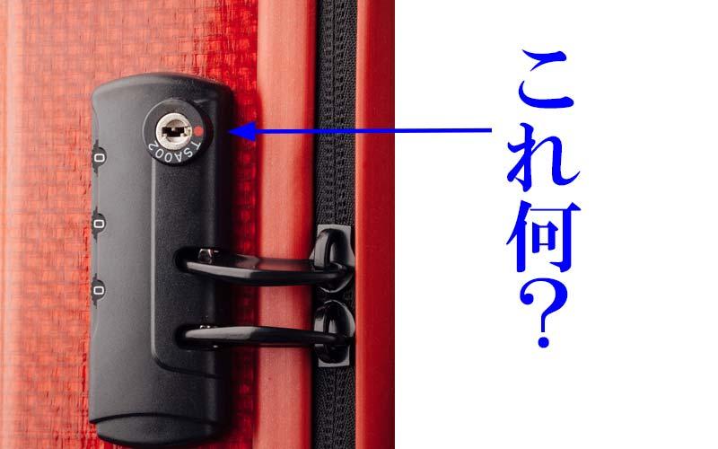 赤色の印がついている錠 これ何?
