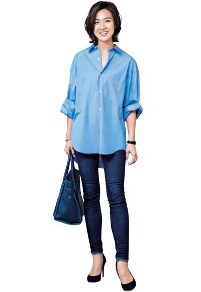 ブルーシャツとブルージーンズ