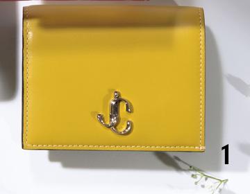 ジミーチュウの派手カラー財布