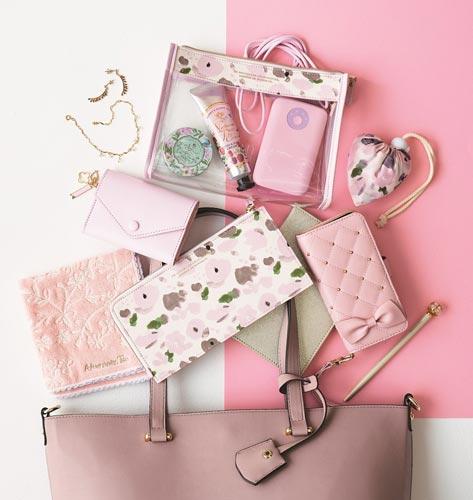 【2】【Afternoon Tea】春色の花柄長財布