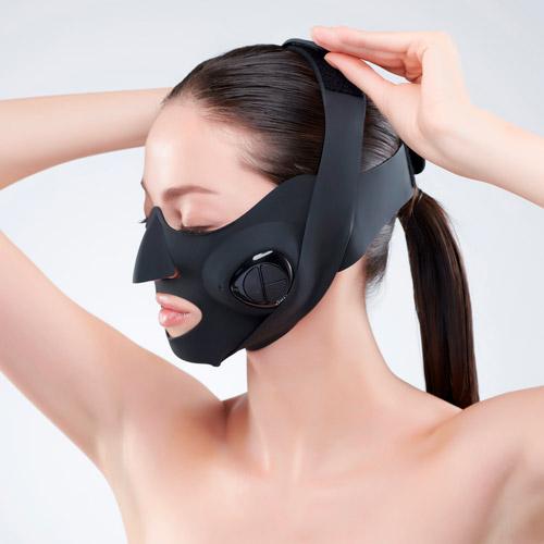 顔の下半分を効率的にケアするウェアラブル美顔器
