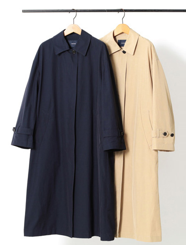 ステンカラーコート【フレームワーク】