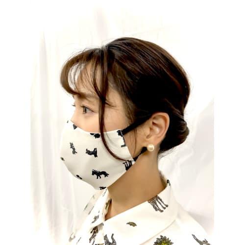 洋服感覚で選べるアパレルブランドマスク