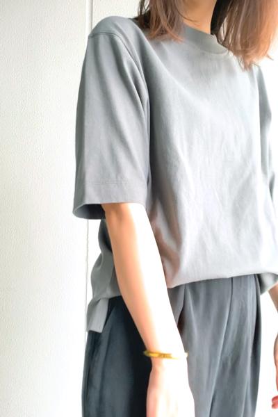 ユニクロ|コットンリラックスボクシーT(半袖)