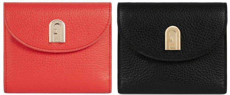【二つ折り】フルラの財布
