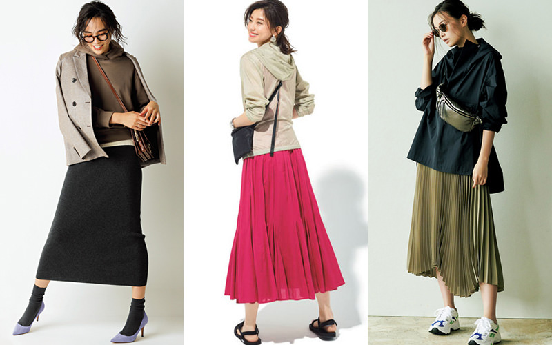 スカート パーカー ワンピース|スカート