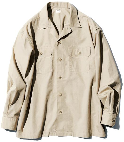 オーバーサイズワークシャツ|ユニクロ