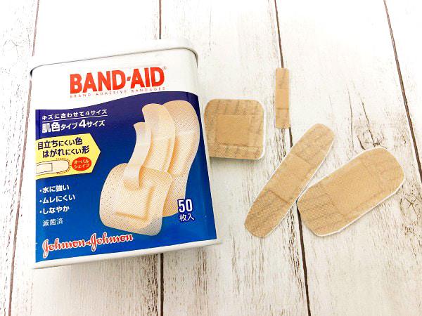バンドエイド|肌色タイプ 4サイズ