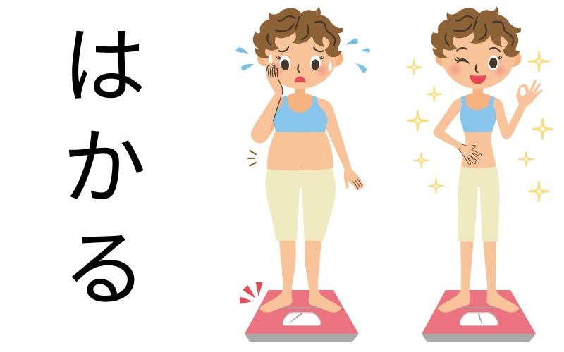 使い分け はかる 漢字