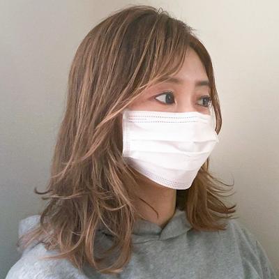 マスク 前髪 オイリー