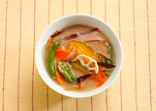 野菜チップスかちゅー湯