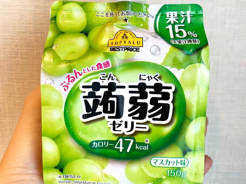 蒟蒻ゼリー マスカット味【イオントップバリュ】