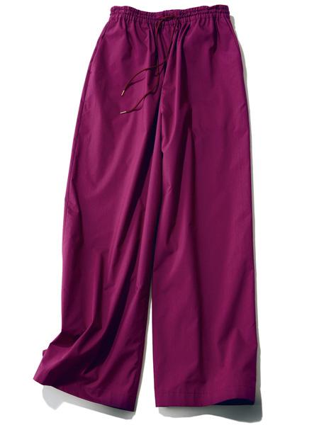 果実色ゆるパンツの着まわしコーデをCHECK!