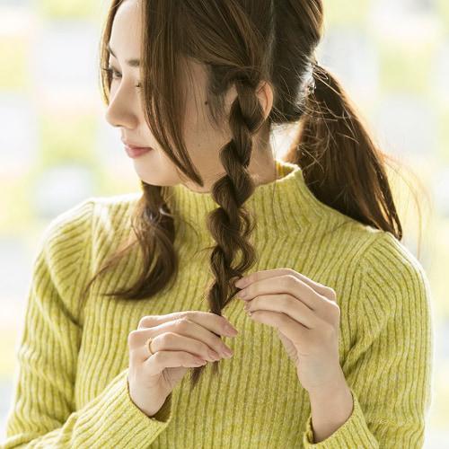 三つ編みよりもずっと簡単なロープ編みを伝授!