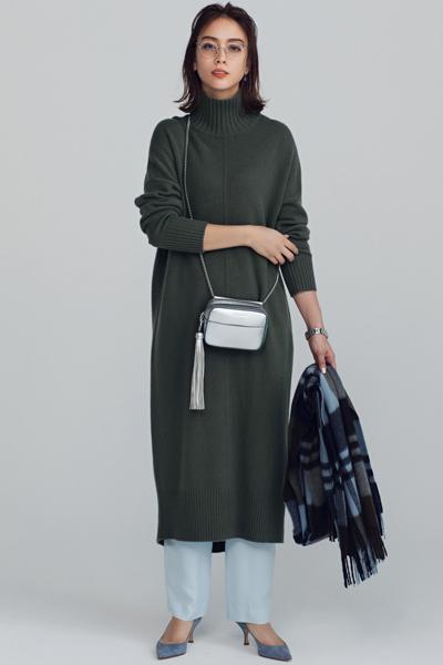 ■ベーシックなショルダーバッグの掛け方
