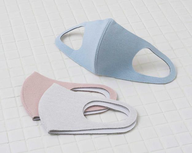 抗菌・消臭加工の洗えるマスク
