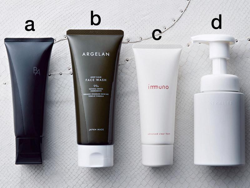 乾燥しらずの肌に導く洗顔料4選