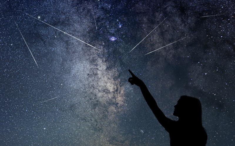時間 帯 群 流星