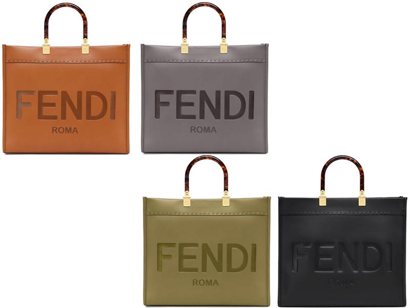 サンシャイン ショッパー バッグ ミディアム|フェンディ