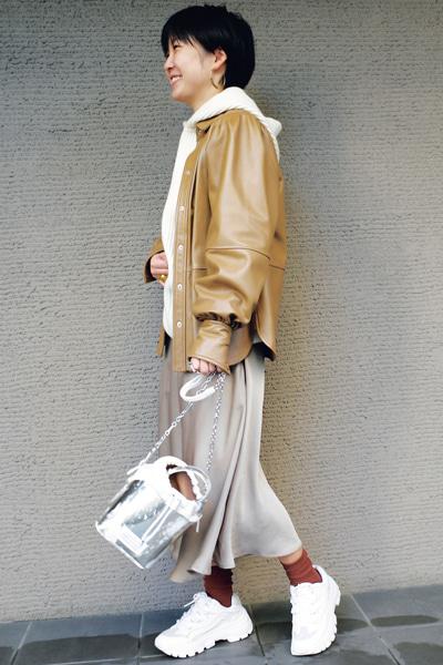 スタイリスト:角田かおるさん