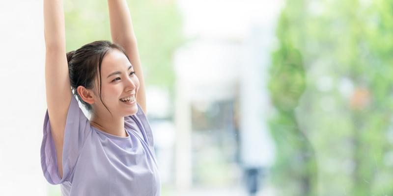 尿漏れや便秘、月経痛の改善に効果的
