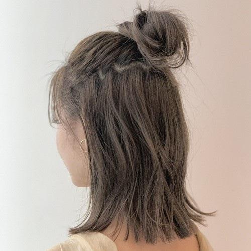 伸ばしかけの前髪にもおすすめ