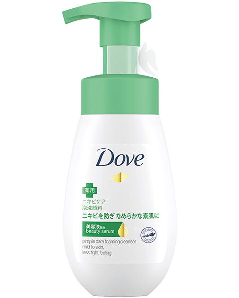 ニキビを防ぐ泡洗顔料