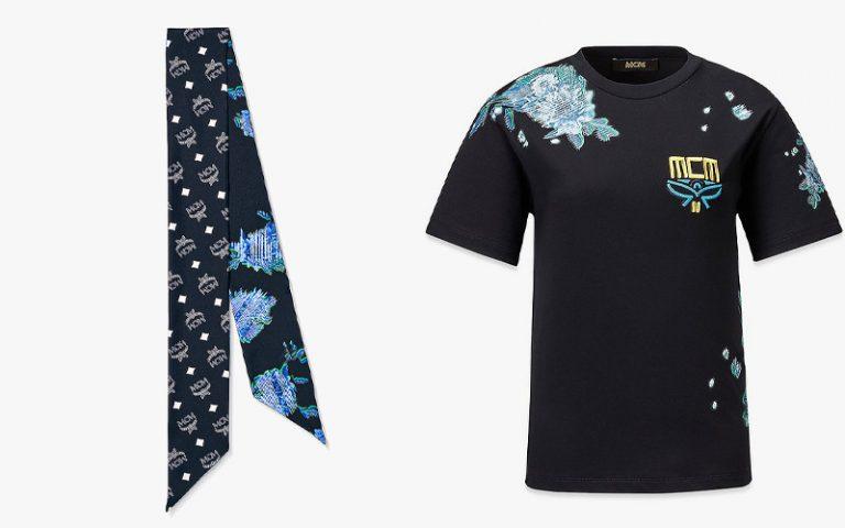 MCM|TECH FLOWER プリントTシャツ
