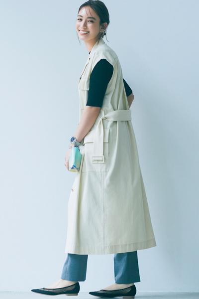 【4/30のコーデ】ヘルシーなのに色っぽい! メッシュの靴で初夏を迎える準備を♡