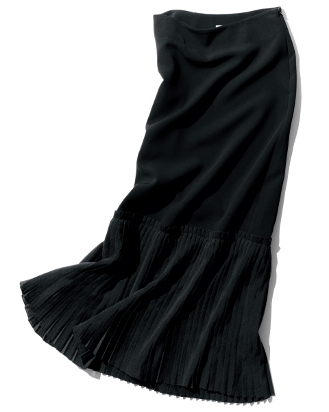 CEPIE.(セピエ)の裾プリーツスカート