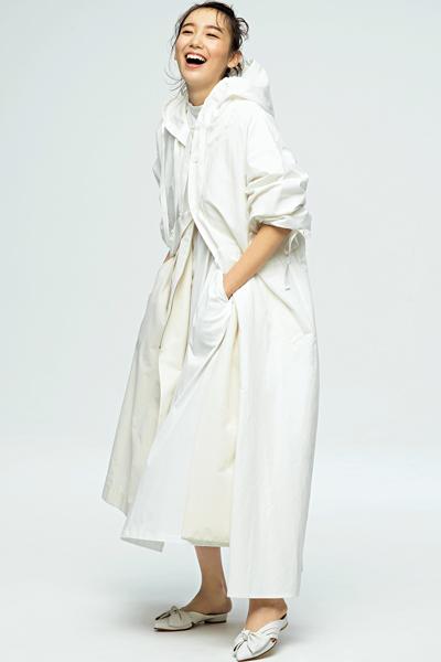 【4/27のコーデ】軽やかに、鮮やかに『白』の躍動感を楽しむ!