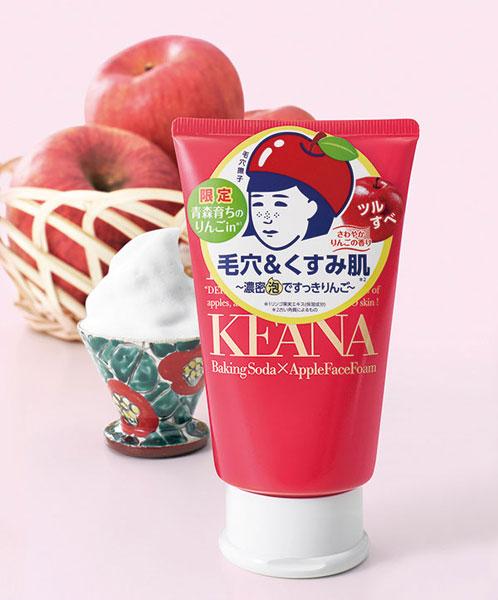 石澤研究所|毛穴撫子 採れたてりんごの重曹泡洗顔