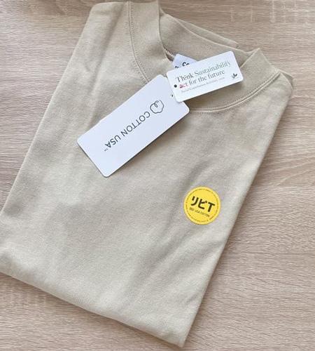 coen|リピT・USAコットンハイネックTシャツ