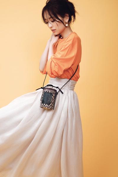 【6/6のコーデ】今日は、ロエベのミニバッグをコーデの主役に♡