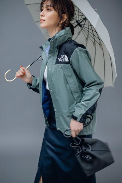 【6/28のコーデ】雨の日通勤はスポーティアウターで颯爽と!