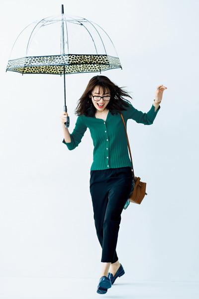【6/21のコーデ】きれい色をまとって雨の日も楽しく過ごしたい♪