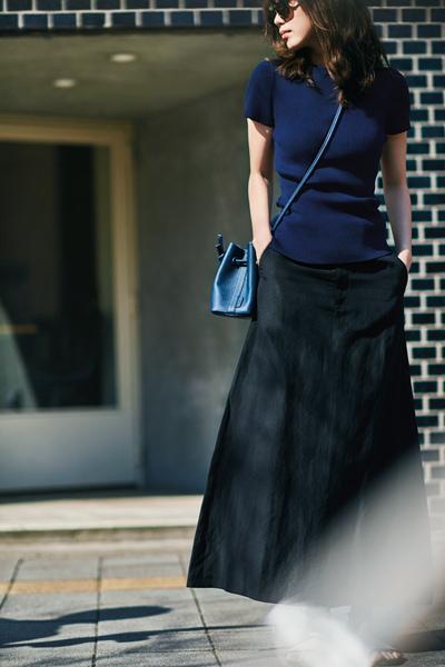 【5/31のコーデ】上品なフレアスカートで凛とした佇まいに