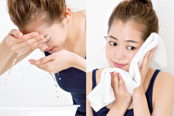 正しい洗顔が美肌への近道