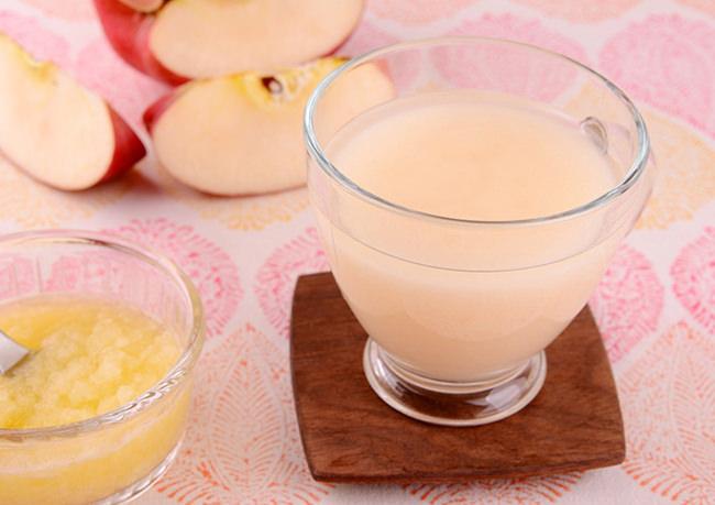 すりおろしりんご甘酒
