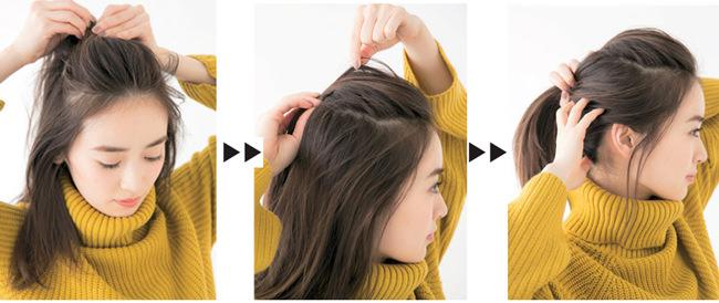 【7】潔く上げた前髪がクールで女っぷりUP!