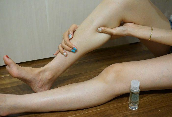 肌へのダメージを抑えるために使用する
