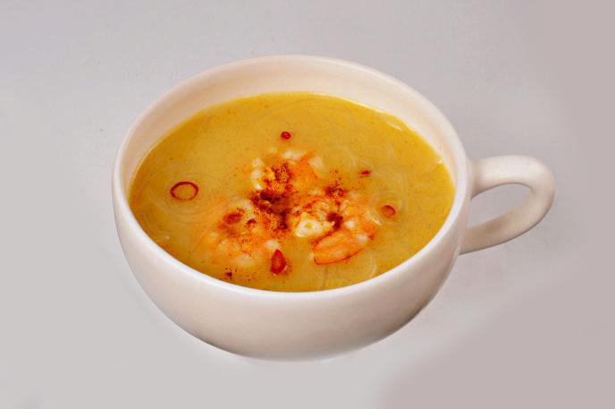 タイ風カレースープ