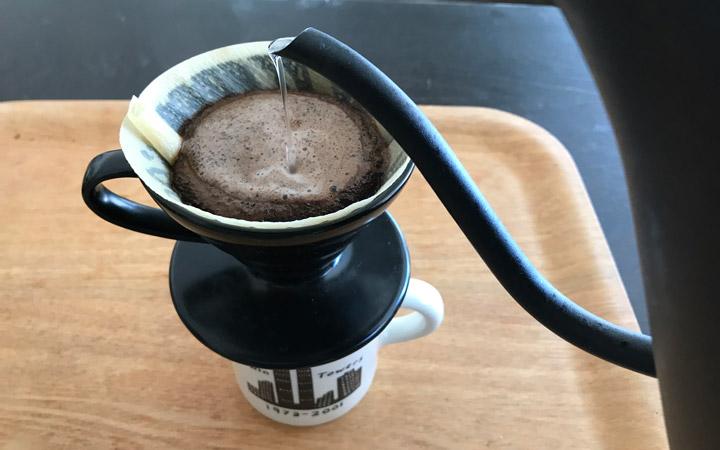【1】コーヒーを入れる