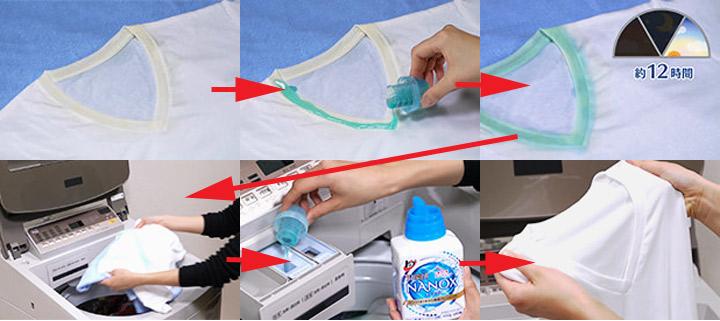 頑固な汚れを洗濯で落とす方法