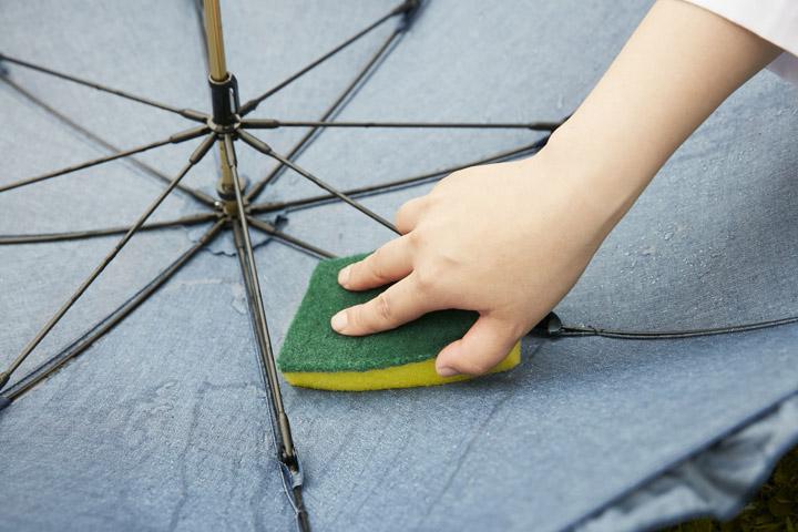 【4】おしゃれ着洗剤で洗える!春雨兼用日傘