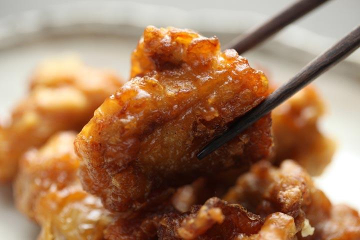 【3】鶏の山椒唐揚げ