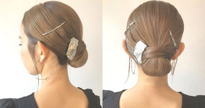 ジメジメ期・広がる髪におすすめのヘアアレンジ